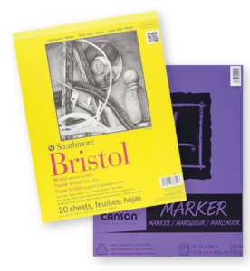 bristol-and-marker-paper